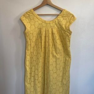 Nine West Yellow Shift Dress